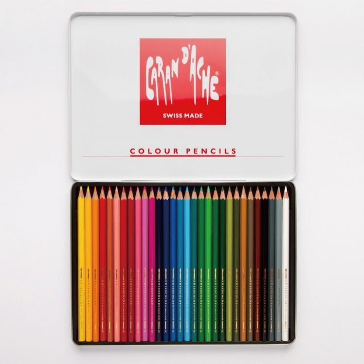 까렌다쉬 스위스 컬러 색연필