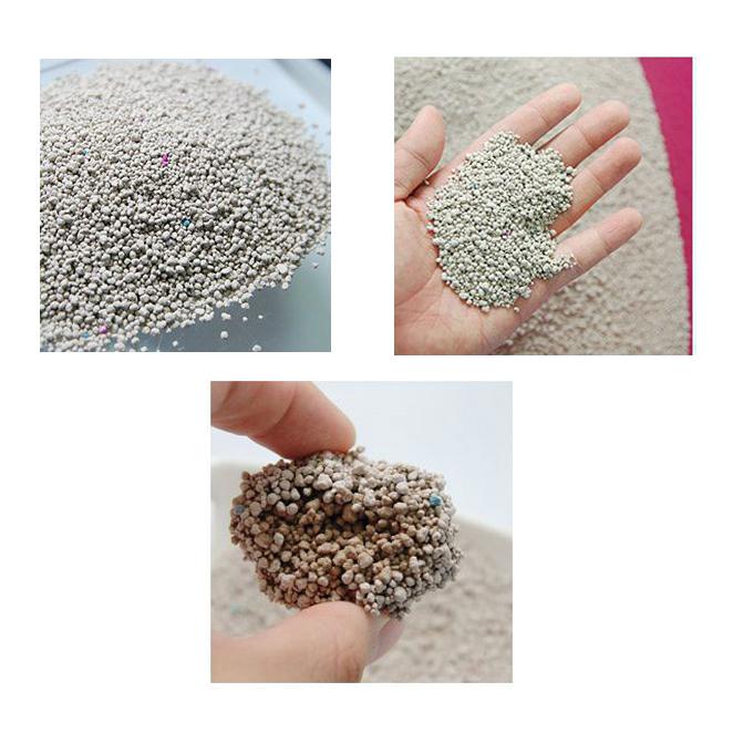 고마워모래야 응고형 고양이 모래 베이비파우더