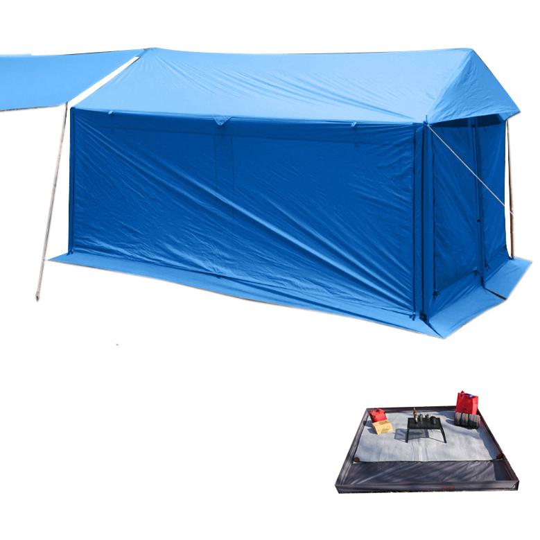 오빌 라운지 쉘터 익스페디션 텐트 + 그라운드시트
