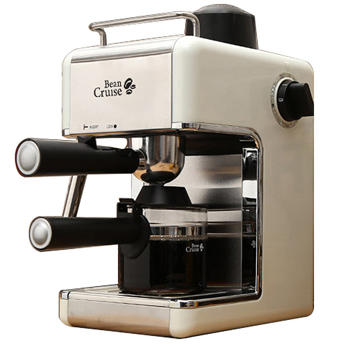 빈크루즈 에스프레소 커피머신, BCC-480ES(화이트)