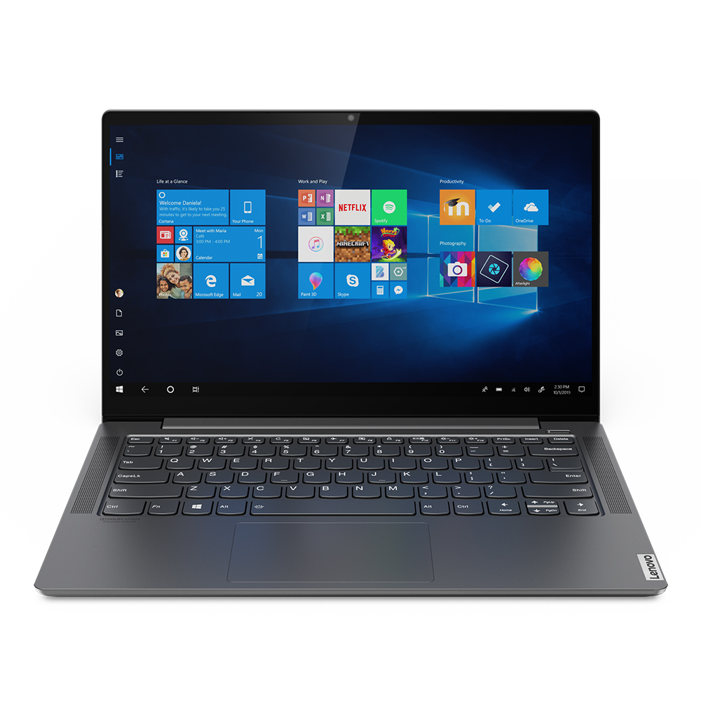 레노버 노트북 YOGA S740-14IIL Liberty i7 (i7-1065G7 35.5cm WIN10 RAM 8GB SSD 512GB MX250), Iron Grey