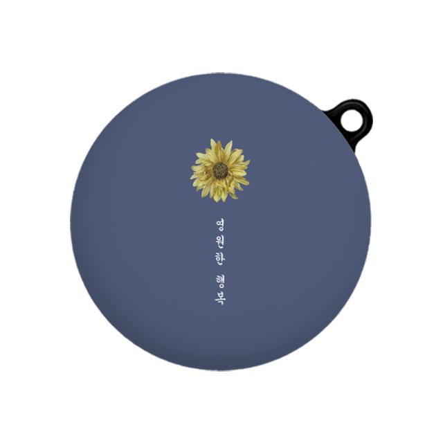 바니몽 디자인바니 톤플러스프리 이어폰 케이스, 단일상품, 꽃말 행복