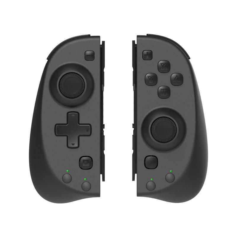 스틸인터렉티브 그립 레볼루션 닌텐도 스위치 컨트롤러, grip-01(블랙), 1개