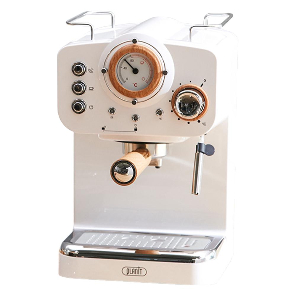 플랜잇 홈 카페프레소 커피머신, PCM-F15WW(화이트)