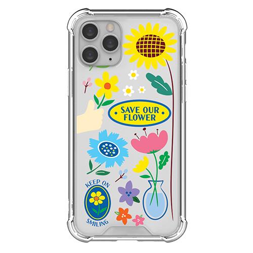 저스트포유 데코 에어쿠션 휴대폰 케이스