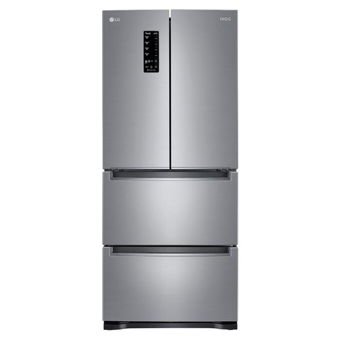 LG전자 디오스 김치톡톡 스탠드형 김치냉장고 K415S14E 402L 방문설치