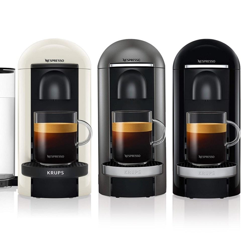 네스프레소 버츄오 플러스 캡슐 커피머신 전모델 독일 재고보유 즉시발송, 08. 드롱기 버츄오 플러스 실버