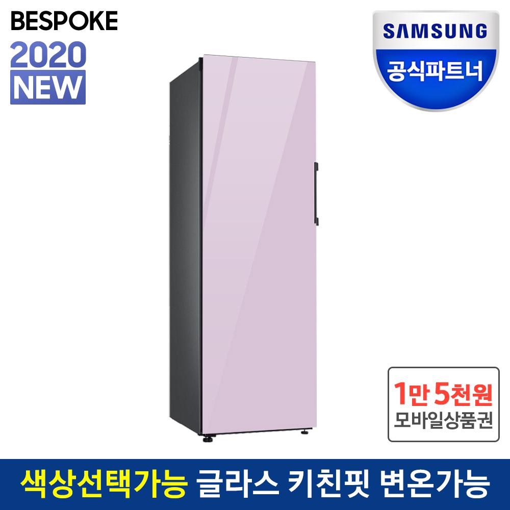 삼성전자 공식인증점 비스포크 김치냉장고 키친핏 RQ32T7602AP 글라스 오더메이드 스탠드형