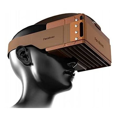 Headset VR Focalmax Foldable 3D VR Glasses with Comfortable Leather Texture Virtual Reality Heads, Video Glasses - Amazon.com  F, 상세 설명 참조0
