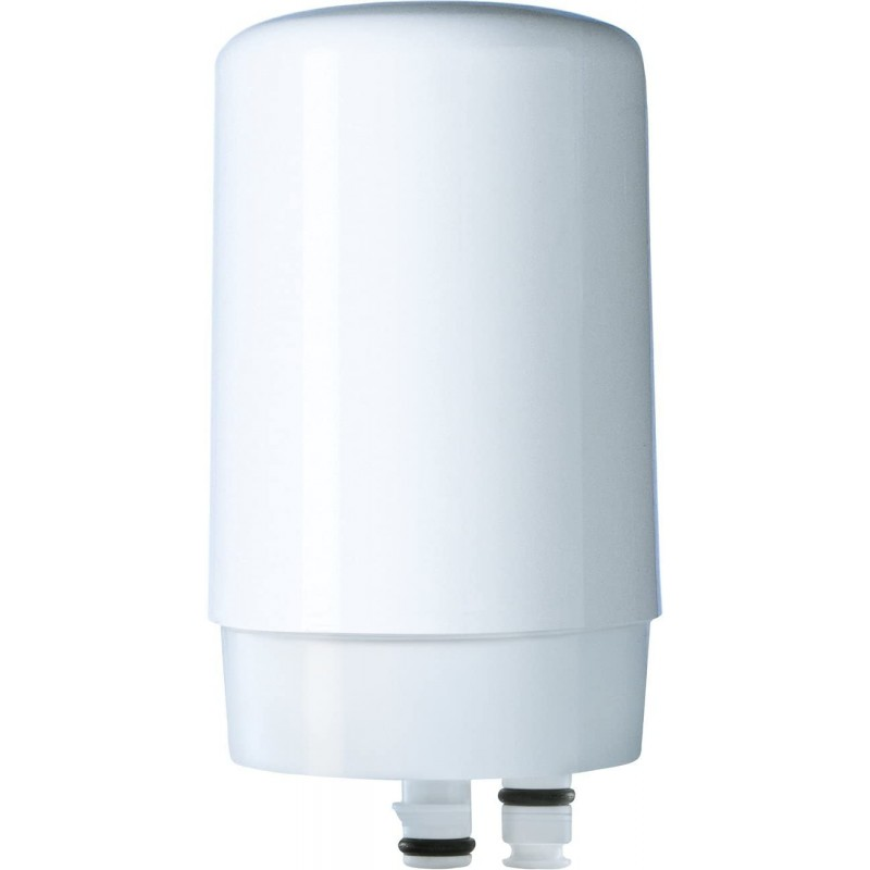 브리타 정수기 수도꼭지용 브리타온 수돗물 여과 시스템 교체 필터 - 흰색 - 1개 수: 어플라이언스, 단일옵션