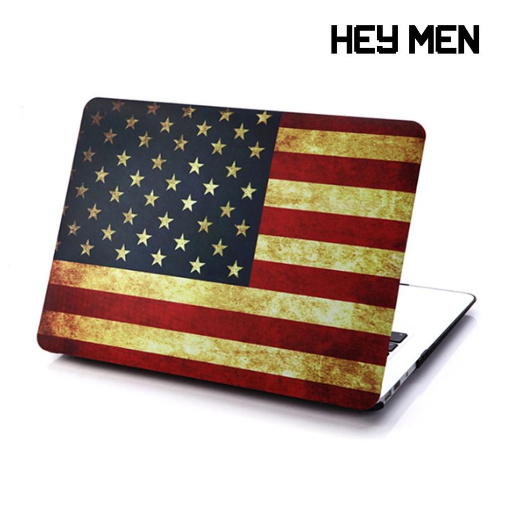 헤이맨 맥북 에어 2020 13인치 하드 케이스 A2179, 성조기
